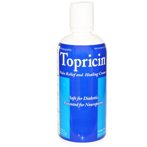 Topricin, Pain Relief Cream, 8.0 oz Review