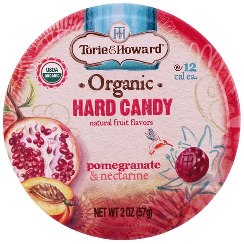Torie & Howard, Organic, Hard Candy, Pomegranate & Nectarine, 2 oz (57 g) Review