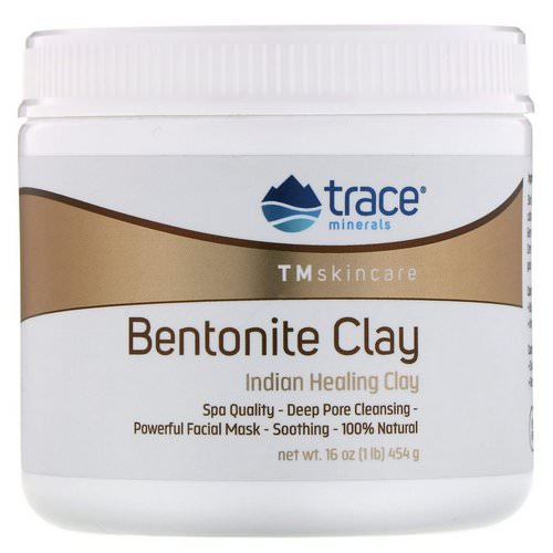 Trace Minerals Research, Bentonite Clay, Indian Healing Clay, 16 oz (454 g) Review