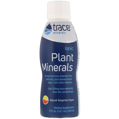 Trace Minerals Research, Ionic Plant Minerals, Natural Tangerine Flavor, 17 fl oz (503 ml) Review
