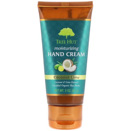 Tree Hut, Moisturizing Hand Cream, Coconut Lime, 3 oz (85 g) Review