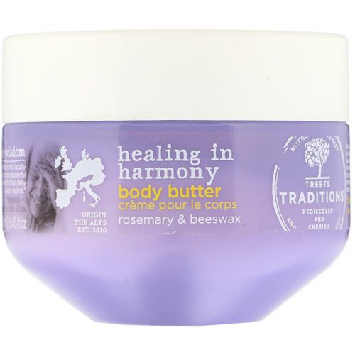 Treets, Healing in Harmony, Body Butter, Soft Lavender, 8.45 fl oz (250 ml) Review