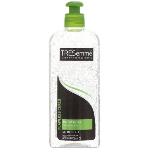 Tresemme, Flawless Curls, Bouncy Curls Defining Gel, 8 oz (226 g) Review