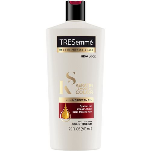 Tresemme, Keratin Smooth Color Conditioner, 22 fl oz (650 ml) Review