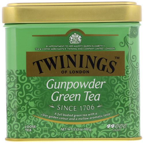 Twinings, Gunpowder Green Loose Tea, 3.53 oz (100 g) Review