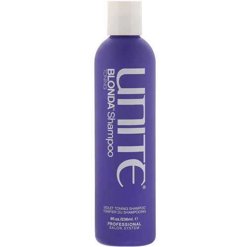 Unite, BLONDA Toning Shampoo, 8 fl oz (236 ml) Review
