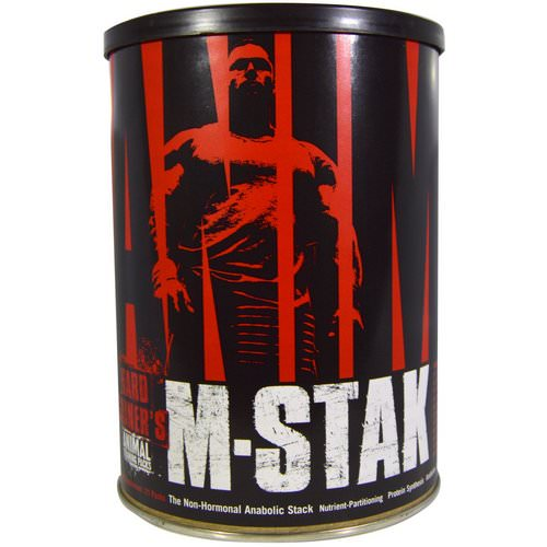Universal Nutrition, Animal M-Stak, The Non-Hormonal Anabolic Stack, 21 Packs Review