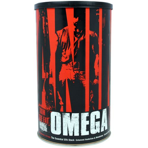 Universal Nutrition, Animal Omega, The Essential EFA Stack, 30 Packs Review