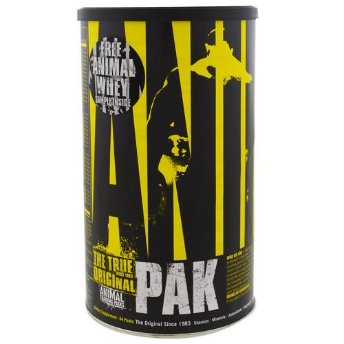 Universal Nutrition, Animal Pak, Training Supplement, 44 Packs Review