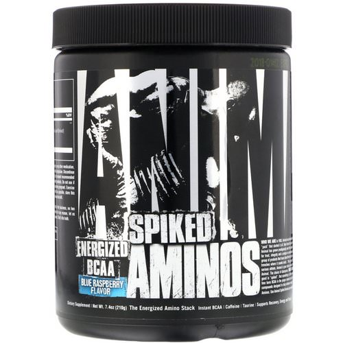 Universal Nutrition, Animal Spiked Aminos, Blue Raspberry, 7.4 oz (210 g) Review