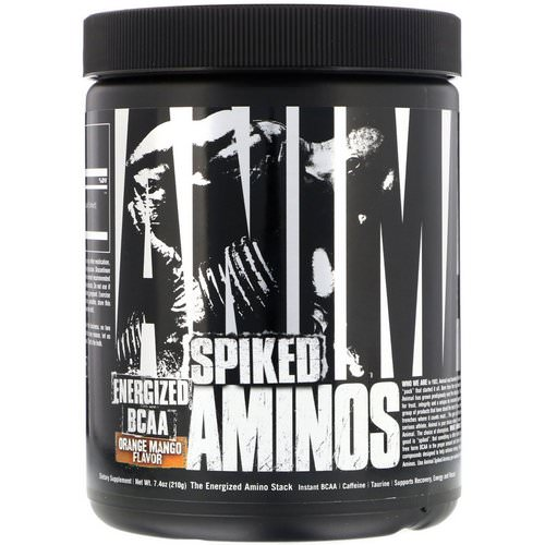 Universal Nutrition, Animal Spiked Aminos, Orange Mango, 7.4 oz (210 g) Review