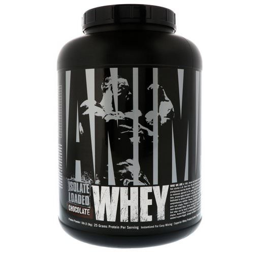 Universal Nutrition, Animal Whey Isolate Loaded, Chocolate, 5 lb (2.3 kg) Review
