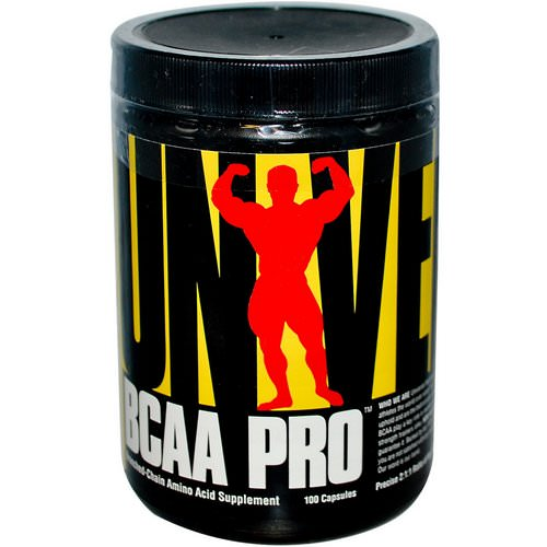 Universal Nutrition, BCAA Pro, Branched-Chain Amino Acid Supplement, 100 Capsules Review