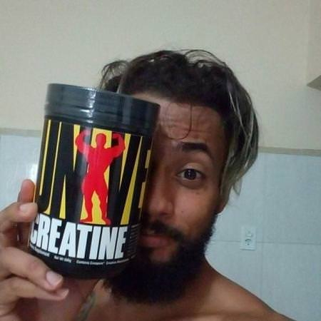 Universal Nutrition, Creatine, Unflavored, 500 g, 1.1 lb (500 g) Review
