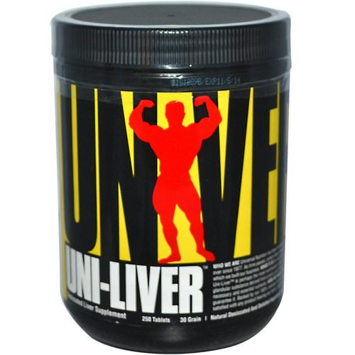 Universal Nutrition, Uni-Liver, Desiccated Liver Supplement, 250 Tablets Review