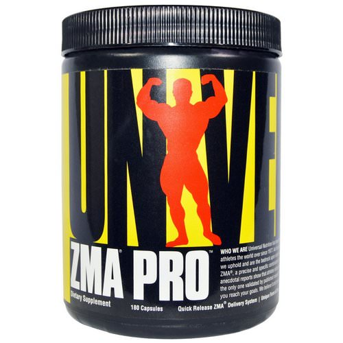 Universal Nutrition, ZMA Pro, 180 Capsules Review