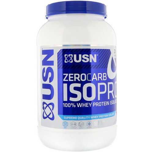 USN, Zero Carb ISOPRO, 100% Whey Protein Isolate, Apple Pie, 1.65 lb (750 g) Review
