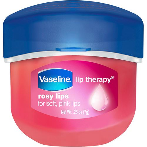 Vaseline, Lip Therapy, Rosy Lip Balm, 0.25 oz (7 g) Review