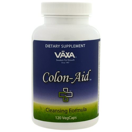 Vaxa International, Colon Aid, 120 Veggie Caps Review