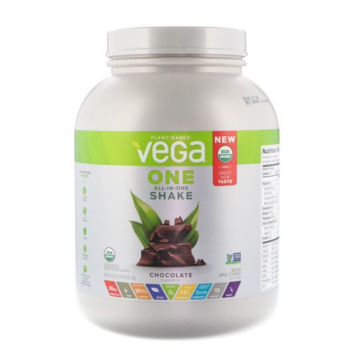 Vega, One, All-In-One Shake, Chocolate, 3 lbs (1.7 kg) Review