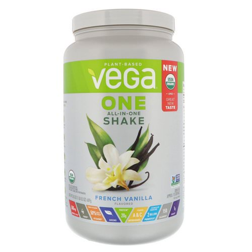 Vega, One, All-in-One Shake, French Vanilla, 1.51 lbs (689 g) Review