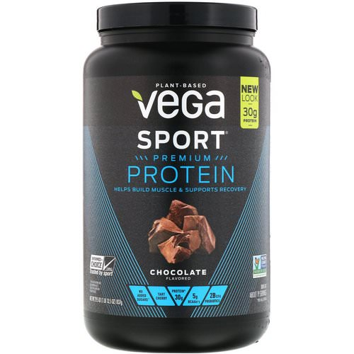 Vega, Sport, Premium Protein, Chocolate, 29.5 oz (837 g) Review
