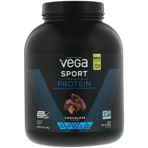 Vega, Sport Premium Protein, Chocolate, 4 lb (5.9 oz) Review