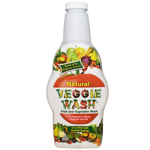 Veggie Wash, Fruit and Vegetable Wash, 32 oz (946 ml) Review