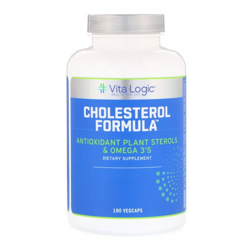 Vita Logic, Cholesterol Formula, 180 Vegcaps Review