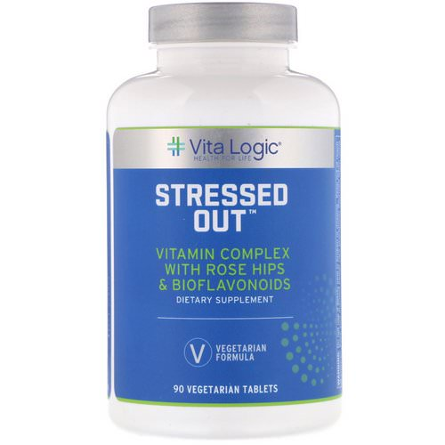 Vita Logic, Stressed Out, 90 Vegetarian Tablets Review