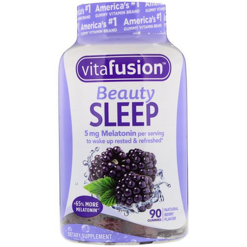 VitaFusion, Beauty Sleep, Natural Berry Flavor, 90 Gummies Review