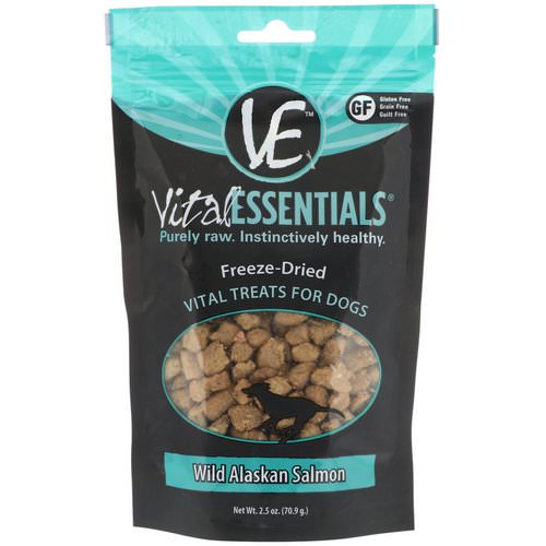 Vital Essentials, Freeze-Dried Treats For Dogs, Wild Alaskan Salmon, 2.5 oz (70.9 g) Review
