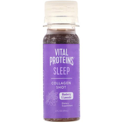 Vital Proteins, Collagen Shot, Sleep, Blueberry & Lavender, 2 fl oz (59 ml) Review