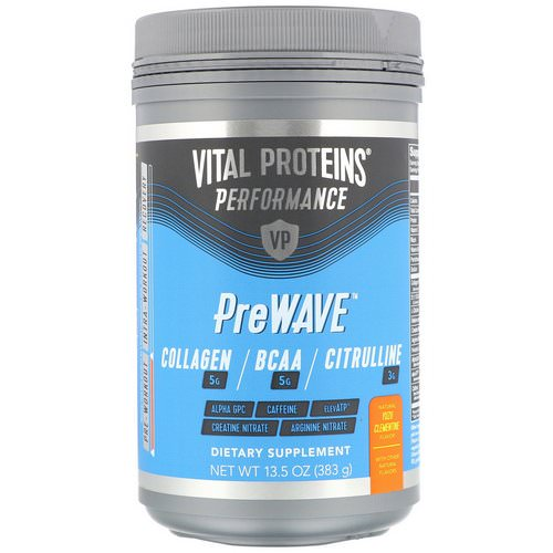 Vital Proteins, Performance, PreWave, Natural Yuzu Clementine, 13.5 oz (383 g) Review