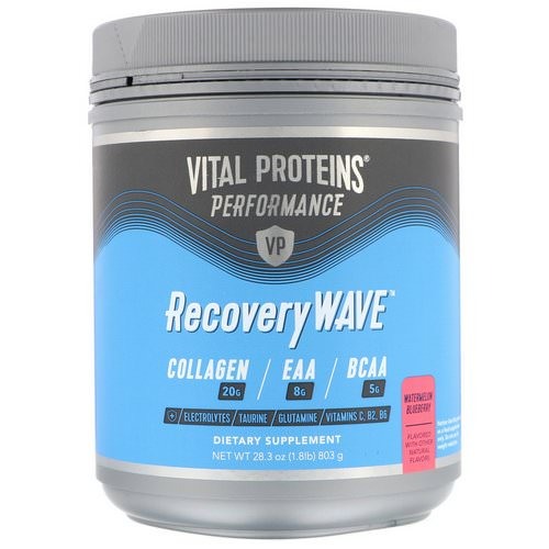 Vital Proteins, Performance, RecoveryWave, Watermelon Blueberry, 28.3 oz (803 g) Review