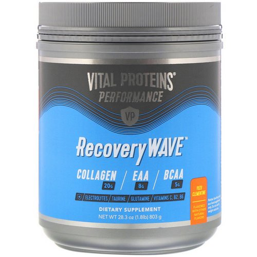 Vital Proteins, Performance, RecoveryWave, Yuzu Clementine, 28.3 oz (803 g) Review