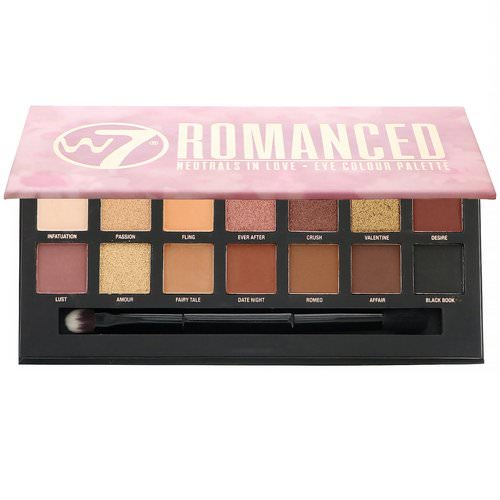 W7, Romanced, Neutrals In Love, Eye Colour Palette, 0.39 oz (11.2 g) Review