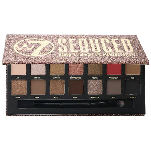 W7, Seduced, Provocative Pressed Pigment Palette, 0.39 oz (11.2 g) Review