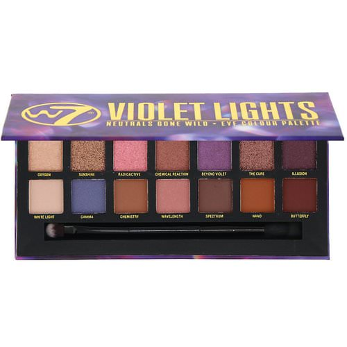 W7, Violet Lights, Neutrals Gone Wild, Eye Colour Palette, 0.39 oz (11.2 g) Review