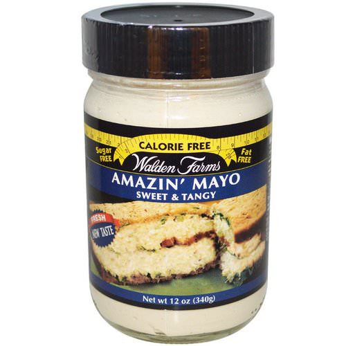 Walden Farms, Amazin' Mayo, Sweet & Tangy, 12 oz (340 g) Review