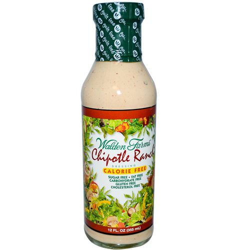Walden Farms, Chipotle Ranch Dressing, 12 fl oz (355 ml) Review