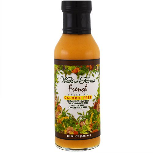 Walden Farms, French Dressing, Calorie Free, 12 fl oz (355 ml) Review
