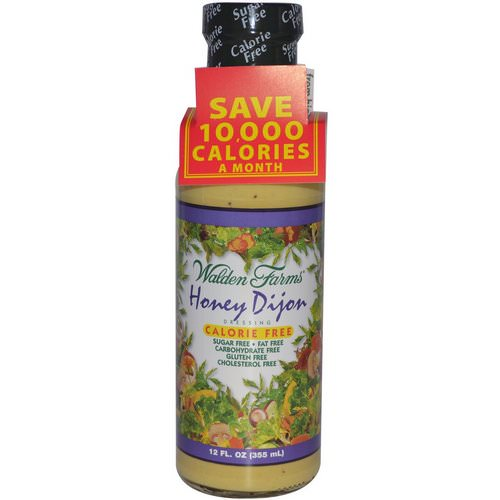 Walden Farms, Honey Dijon Dressing, 12 fl oz (355 ml) Review
