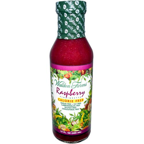 Walden Farms, Raspberry Vinaigrette, 12 fl oz (355 ml) Review