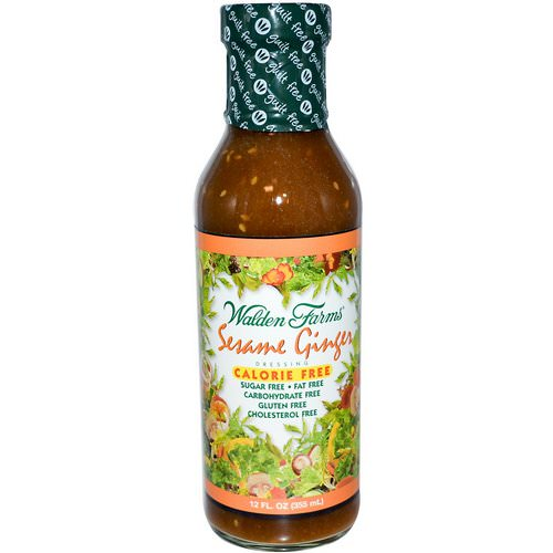 Walden Farms, Sesame Ginger Dressing, 12 fl oz (355 ml) Review