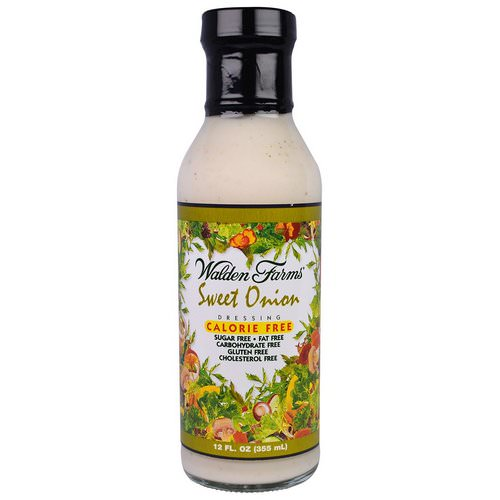 Walden Farms, Sweet Onion Dressing, Calorie Free, 12 fl oz (355 ml) Review