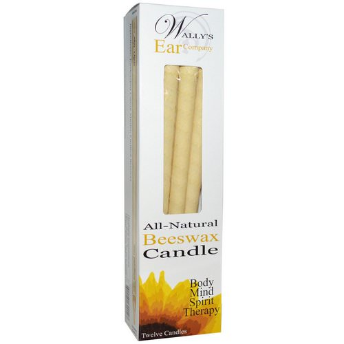 Wally's Natural, Ear Candles, Luxury Collection, Unscented, 12 Candles Review