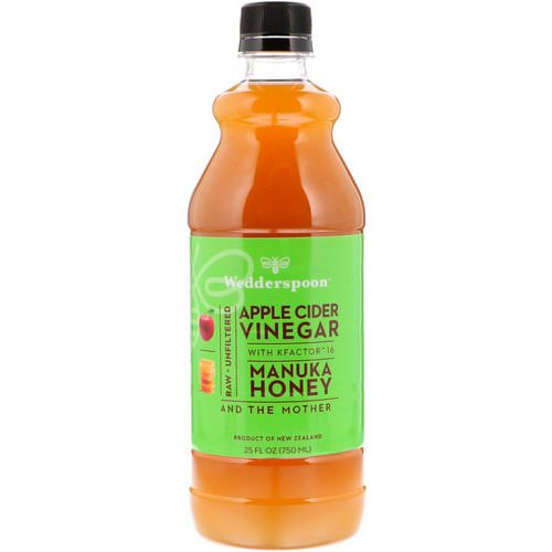 Wedderspoon, Apple Cider Vinegar with KFactor 16, Manuka Honey, 25 fl oz (750 ml) Review
