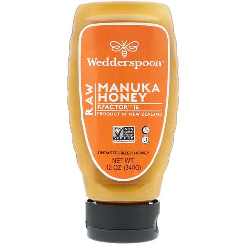 Wedderspoon, Raw Manuka Honey, KFactor 16, 12 oz (340 g) Review