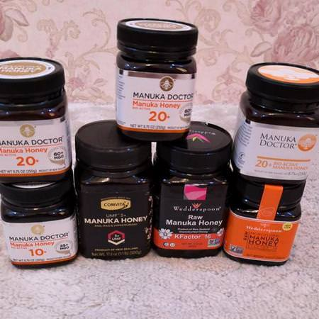 Wedderspoon Supplements Bee Products Manuka Honey